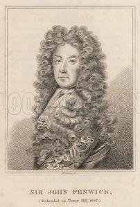 Sir John Fenwick, Beheaded on Tower Hill 1697